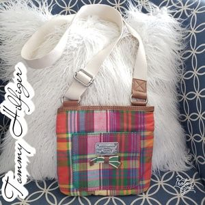 Tommy Hilfiger crossbody purse bag plaid